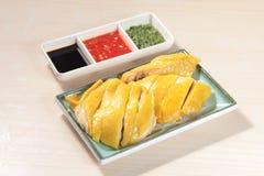 Culinária cozinhada da galinha do estilo chinês imagens de stock royalty free