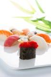 Culinária de Japanesse Sushi Fotos de Stock Royalty Free
