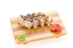Culinária de Japanesse Sushi Fotografia de Stock Royalty Free