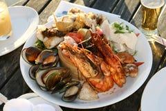 Culinária de Nova Zelândia imagens de stock royalty free