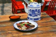 Culinária de Sichuan imagem de stock royalty free