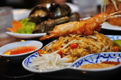 Culinária do Indonesian e da Tailândia imagem de stock royalty free