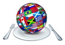 Culinária do mundo Imagens de Stock