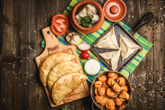 Culinária do nacional do russo Imagens de Stock