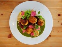 Culinária do vegetariano em Poznan Imagens de Stock Royalty Free