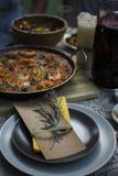 Culinária espanhola Foto de Stock Royalty Free