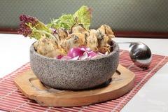 Culinária fresca e saboroso do marisco fotografia de stock royalty free