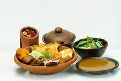 Culinária indonésia fotografia de stock royalty free