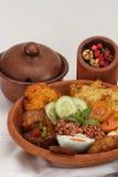 Culinária indonésia imagem de stock royalty free