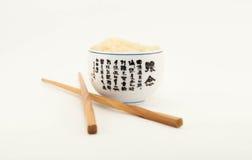 A culinária japonesa é varas do arroz Imagem de Stock