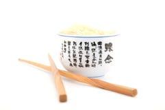 A culinária japonesa é varas do arroz Foto de Stock Royalty Free