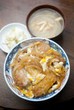 Culinária japonesa, Katsudon Fotografia de Stock