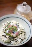 Culinária japonesa Ochazuke Foto de Stock Royalty Free