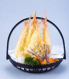Culinária japonesa tempura E Fotografia de Stock