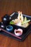 Culinária japonesa tempura E Foto de Stock