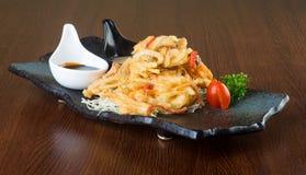 Culinária japonesa tempura E Imagem de Stock Royalty Free
