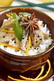 Culinária japonesa tradicional Fotografia de Stock Royalty Free