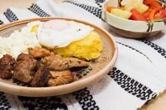 Culinária romena tradicional (tochitura) Imagem de Stock Royalty Free