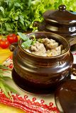 Culinária russian tradicional Fotos de Stock Royalty Free