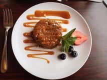 Culinária Sassy do carmel do gengibre imagens de stock royalty free