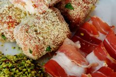 Culinária siciliano Fotos de Stock