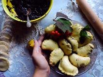 Culinária ucraniana Imagens de Stock Royalty Free