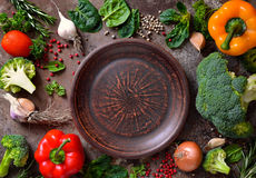 Culinaire achtergrond stock fotografie