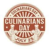 Culinarians dia, o 25 de julho Foto de Stock Royalty Free