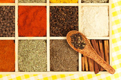 Culinary aromatic spices. Royalty Free Stock Image