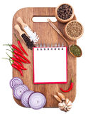 Culinary background Stock Photography