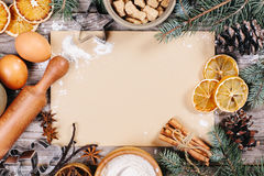 Culinary background Royalty Free Stock Image