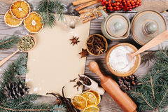 Culinary background Royalty Free Stock Photos