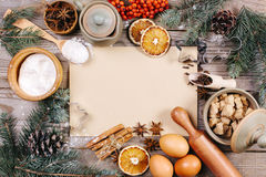 Culinary background Stock Image