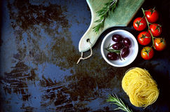 Culinary background Stock Photos