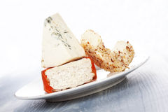 Culinary cheese eating. Stock Photography
