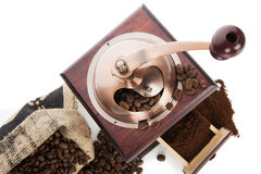 Culinary coffee background. Stock Photos