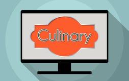 Culinary royalty free illustration