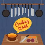 Culinary cooking class Royalty Free Stock Photography