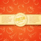 Culinary cover background. Royalty Free Stock Photo