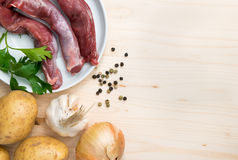 Culinary food ingredients Royalty Free Stock Image
