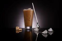 Culinary ice coffee. Royalty Free Stock Image