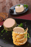 Culinary pate. Royalty Free Stock Photo