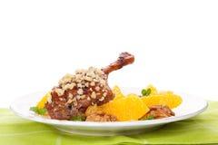 Culinary roast duck. Royalty Free Stock Photo