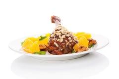 Culinary roast duck. Royalty Free Stock Photos