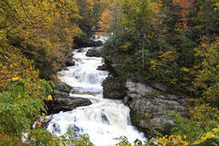 Cullasaja Falls in NC Stock Image