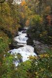 Cullasaja Falls in NC Royalty Free Stock Photo