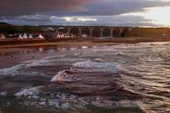Cullen Fishing Village, Moray, Scotland Stock Images