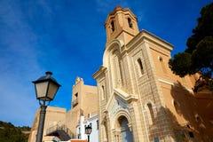 Cullera Nuestra Senora Encarnacion sanctuary. In Valencia of Spain Royalty Free Stock Image