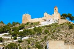 Cullera Nuestra Senora Encarnacion sanctuary. In Valencia of Spain Stock Images