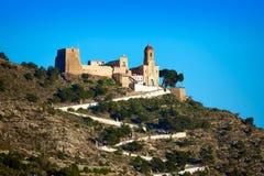 Cullera Nuestra Senora Encarnacion sanctuary. In Valencia of Spain Royalty Free Stock Photo